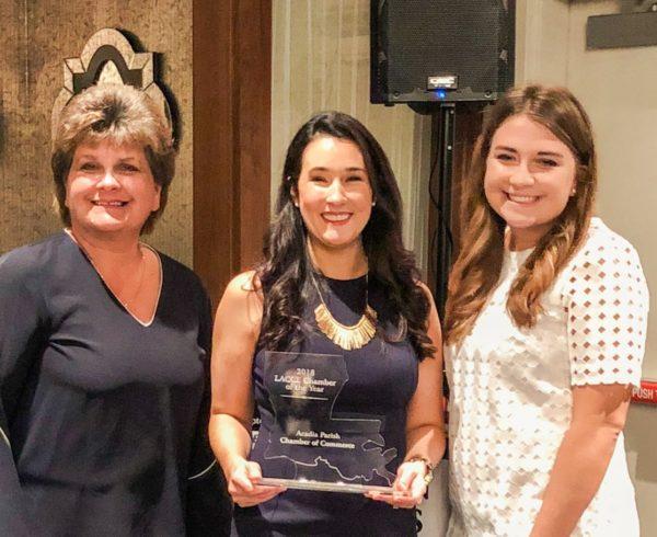 Acadia Chamber Wins Award