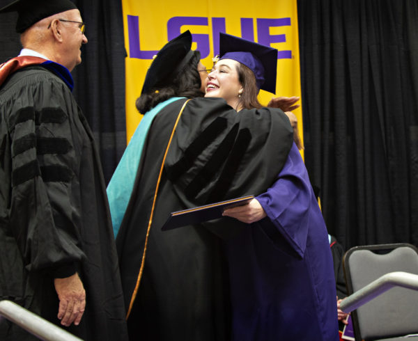 LSUE Graduation Tiffany Gates FAFSA Louisiana Eunice